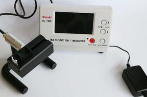 Image 1 - New Coaxial LCD MTG Watch Tester Timing Multifunction Timegrapher WeiShi NO.1900