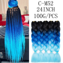 Colorful Crochet Braid Hair Extensions