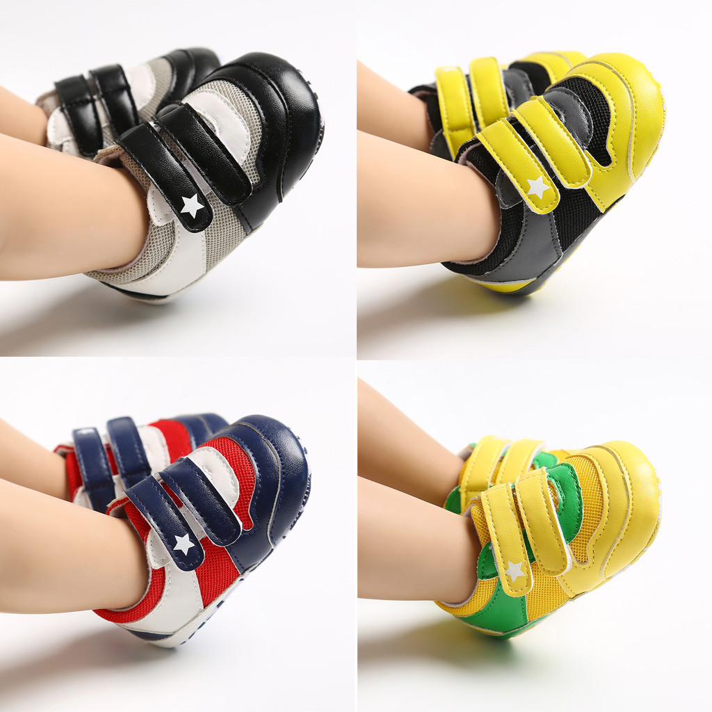 Baby Shoes Winter Baby Boots Infant Newborn Girls Boys Cartoon Shoes First Walkers Shoes Anti-slip Prewalker Sneakers 0-12M