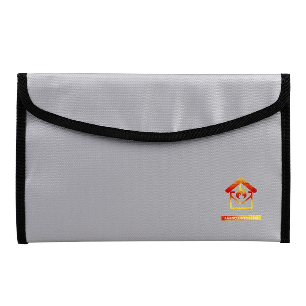 Files Folder Document Ticket Storage Bag Waterproof Large Capacity Files Organizer For Office Travel Fireproof File Folder