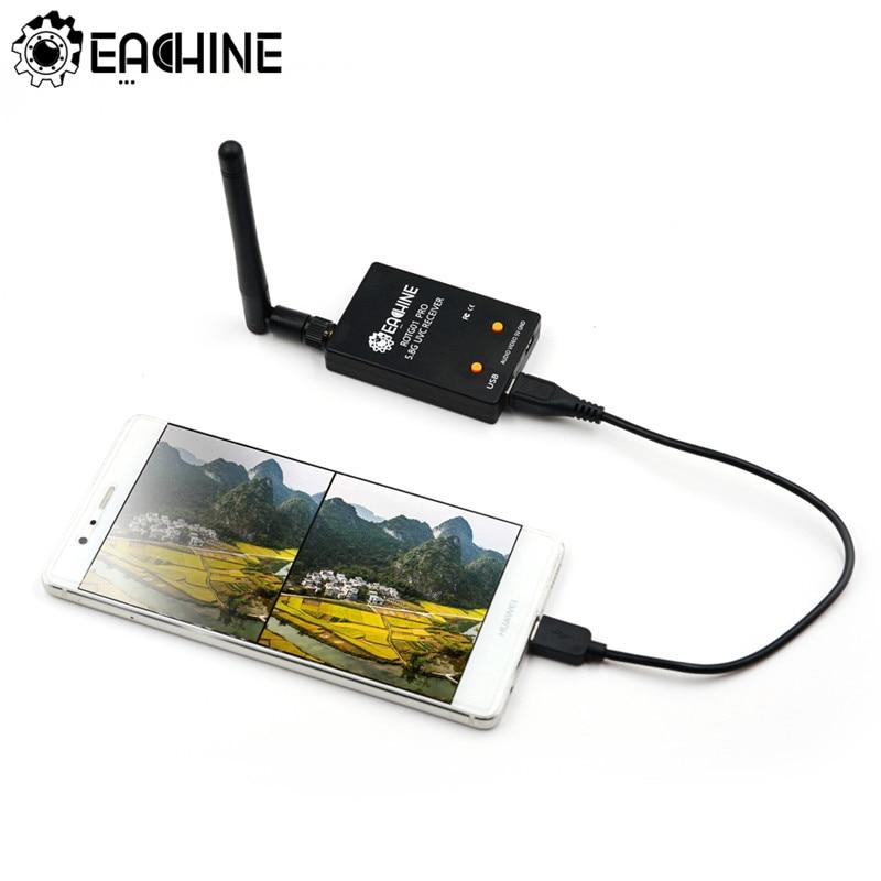 Eachine ROTG01 Pro UVC OTG 5,8G 150CH полноканальный FPV приемник с аудио для Android смартфона FPV аксессуары для дрона