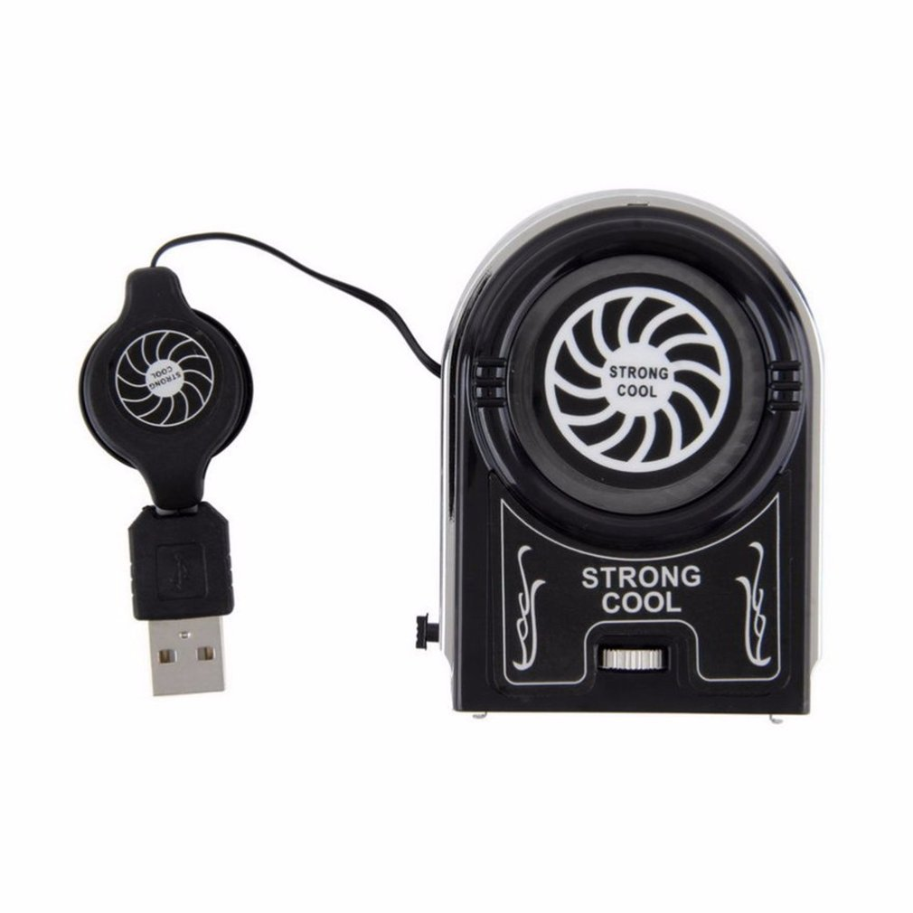 USB <font><b>Notebook</b></font> Laptop <font><b>Cooling</b></font> Cooler <font><b>Fan</b></font> Pad Mini Vacuum Strong Cool Air Extract Flexible External for Laptop Computer hot sale image