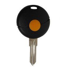 10pieces/lot 1 Button Remote Car Key Shell For Benz Smart Fortwo 1998-2012 US Replacement Case  Flip Cover