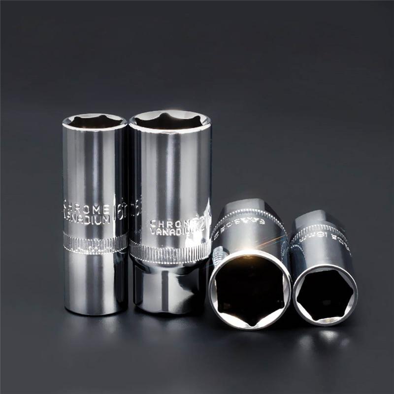 Spark Plug Socket Wrench Head 1/2 3/8 16mm 21mm Hand Tools CR-V Universal Inner Hexagon Spanner Alle