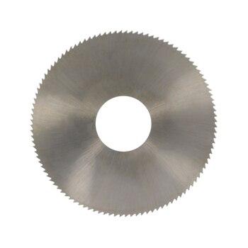 цена на Hot 108 Teeth Circular Saw Blade Rotary 22/27/32mm Arbor 75~150mm HSS6542 Blades 0.5~2mm Thickness Milling Metal Cutter 1pcs
