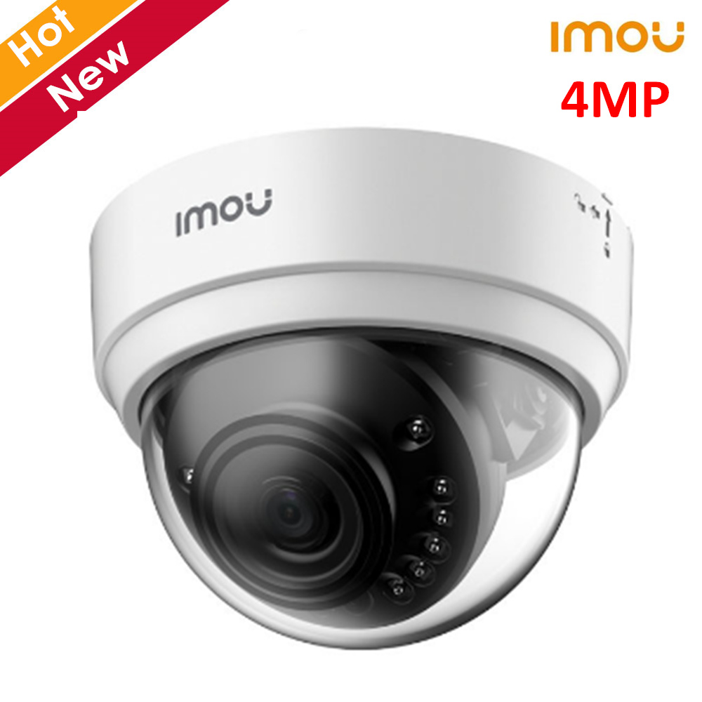 Dahua Imou Dome Lite 4MP Wireless Wifi Camera H.265 Superb Night Vision Alarm Notification Support SD Card NVR Cloud Storage