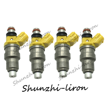 4pcs 700cc Fuel Injector Nozzle For Toyota MR2 Celica Supra 3SGTE EJ20 RB26DETT 4AGE 7MGE 7MGTE 700CC OEM:1001-87650 100187650