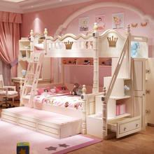 Cama de casal de duas camadas cama de casal cama de casal cama de beliche de madeira maciça