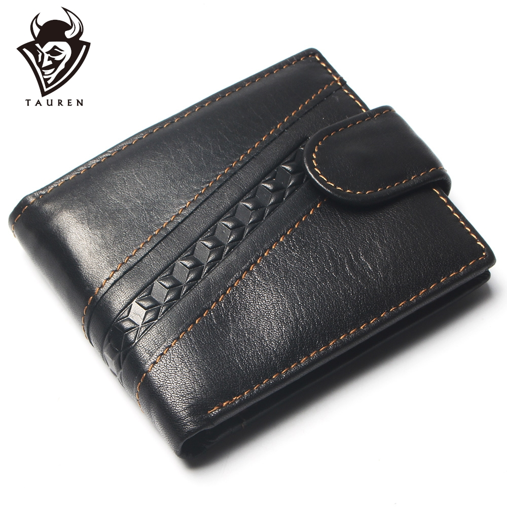 New Coin Purse Cheap Mens Twill Stitching Style Wallet Genuine Leather Coin Purse For Men Card Holder Strong Wallet