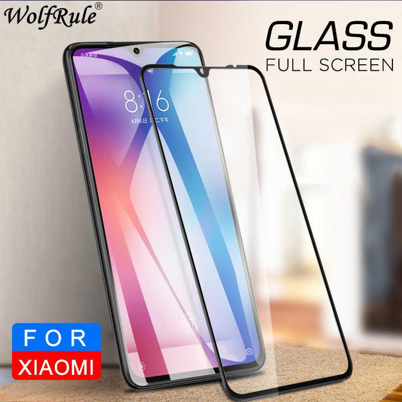 Cubierta completa de vidrio para Xiaomi mi 9 vidrio templado mi 9 Protector de pantalla para Xiaomi mi 9 pegamento completo Protector película para Xiaomi mi 9