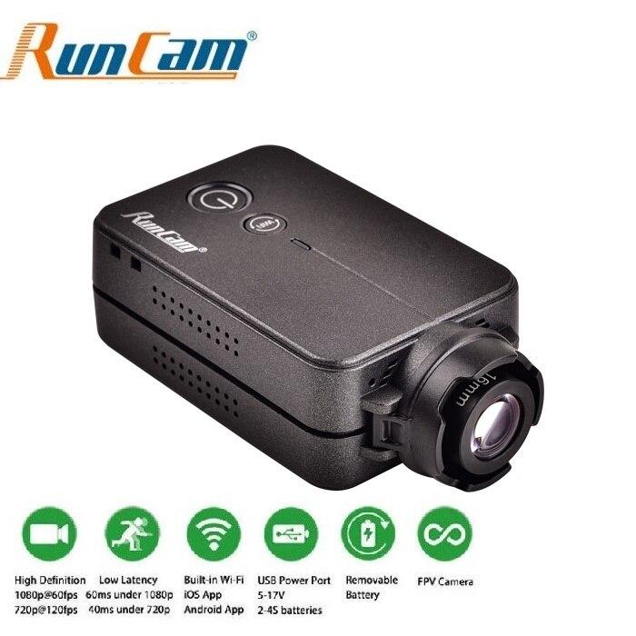 Runcam 2 v2 runcam2 hd 1080 p 120 graus grande angular wifi câmera fpv para rc qav210 250 quadcopter fpv multicopter