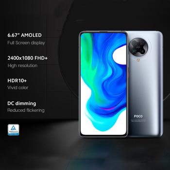 "Xiaomi POCO F2 Pro 5G Smartphone 6G+128G/8G+256G Snapdragon 865 64MP Quad Cam 6.67"" Mobile Phone 4700mAh Electronics Mobile Phones"