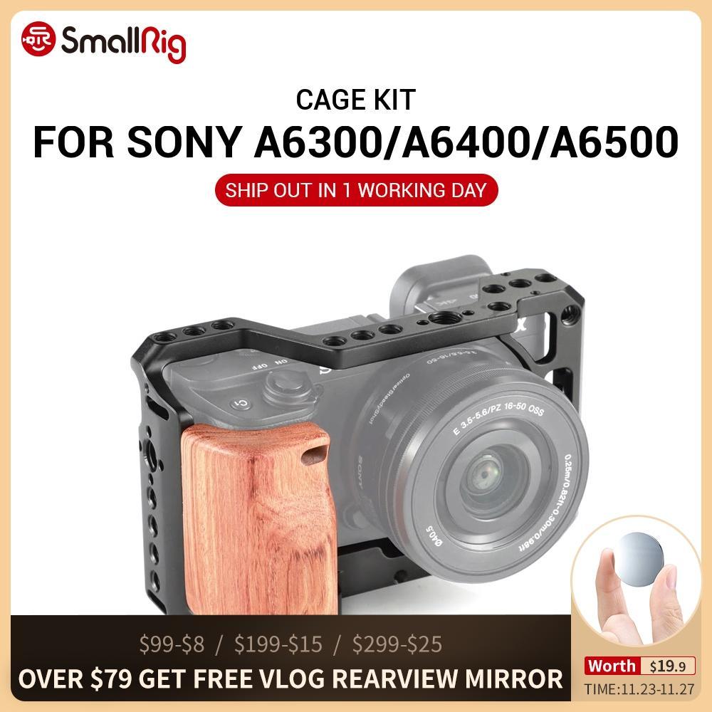 Cușcă pentru aparat de fotografiat vlog mic A6400 pentru Sony A6100 - Camera și fotografia - Fotografie 1