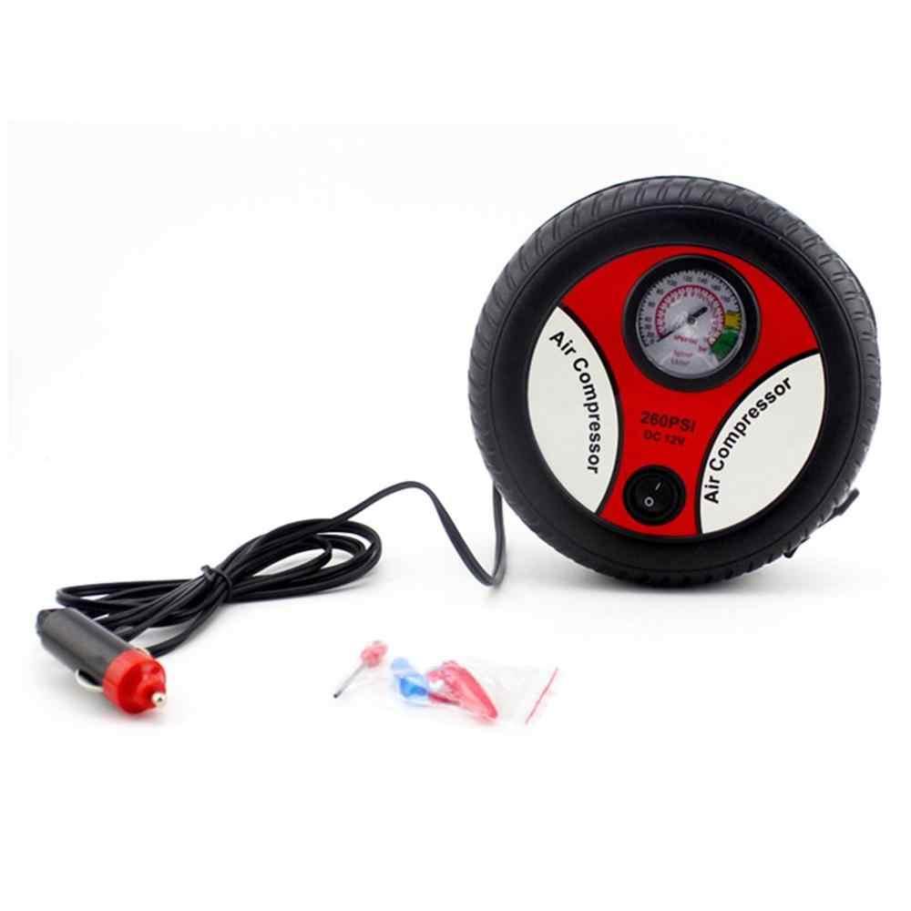 نوع B سيارة نفخ مضخة الإطارات المحمولة السيارات مضخة نفخ 12 فولت الكهربائية ارتفاع ضغط سيارة مضخة نفخ