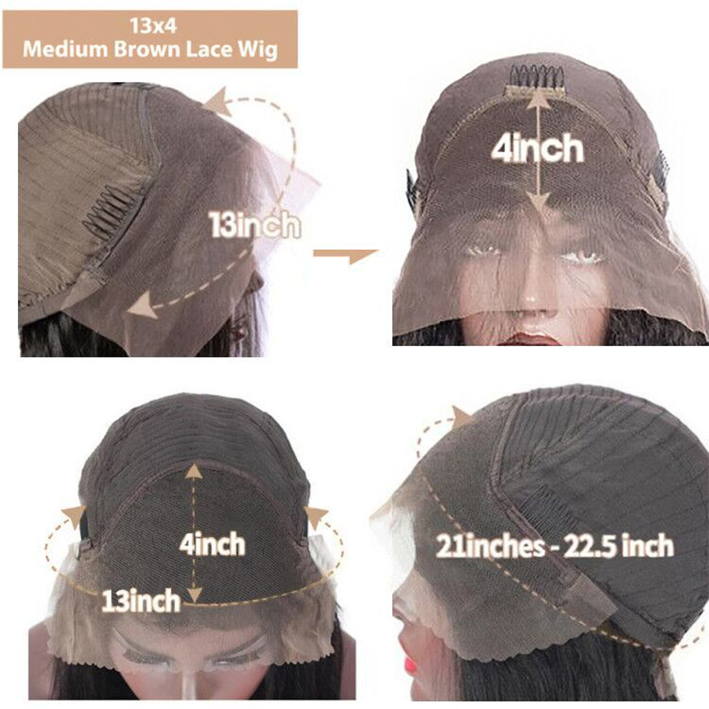 Body Wave Lace Front Wig Hd Transparent Lace Frontal Wigs    30 Inch Wet And Wavy Lace Front Wig 5