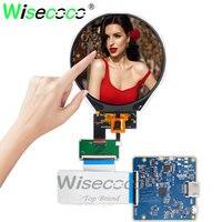 800*800 3.4 polegada ips roucd display circular tft lcd tela com toque com hdmi mipi placa de motorista para instrumento relógio exibição Painéis e LCDs p/ tablet     -