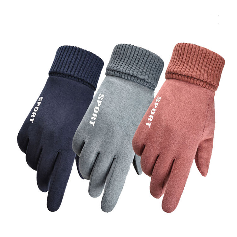 Women Men Cycling Gloves  Full Finger  Touchscreen Outdoor Sports Gloves For Driving Skiing Gloves