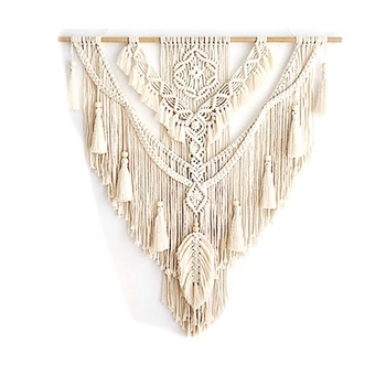 Nordic Bohemian Macrame Wall Hanging Tapestry Hand-Wovening Tel Home Wall Decor Large Tapestry large macrame tapestry macrame wall hanging farmhouse decor makramee room decoration tapestry wall gift for women