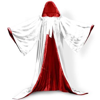 Kapturowe peleryny ślubne aksamitne z długim rękawem aksamitne peleryny ślubne eleganckie wykonane na zamówienie nowe ślubne chusty ślubne szale tanie i dobre opinie lifetime not regret COTTON Dla osób dorosłych PRZĘDZA BARWIONA Szal ślubny