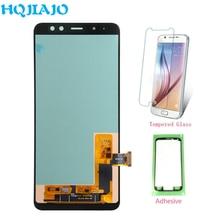 High end TFT A CRISTALLI LIQUIDI Per Samsung Galaxy A8 2018 A530 Touch Screen Digitizer + Display LCD Per Samsung A8 a530 A530F A530F/DS