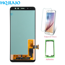Высококачественный TFT lcd для samsung Galaxy A8 2018 A530 сенсорный экран дигитайзер + ЖК дисплей для samsung A8 A530 A530F A530F/DS
