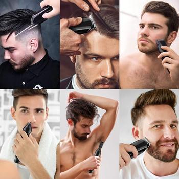 Hair trimmer Professional hair clipper electric hair clipper electric shaver beard trimmer man shaving machine cut nose electric 4