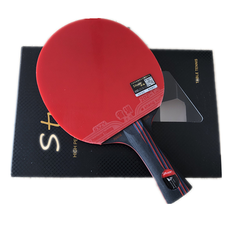 Professional Carbon Fiber Table Tennis Racket Nanocarbon 9.8 Carbon Ping Pong Original With Double Face Pimples-in And Gifts