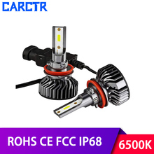 CARCTR Car Led Headlight H1 H4 H7 Bulbs Auto Headlamp 9005 9006 H11 9012 H3 Car Light 30W 8000LM 6500K Car Headlights for Cars h11 auto headlamp h4 h7 led bulbs for car lighting car back light led car lights bulb h11 d4c headlight auot parts h3 h1 d4c