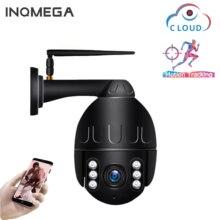 INQMEGA cámara IP domo de velocidad PTZ, 1080P, WiFi, seguimiento automático, inalámbrica, red CCTV, vigilancia de seguridad, impermeable