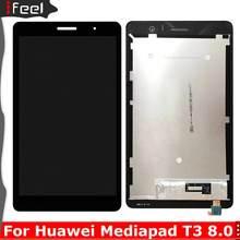 Para huawei mediapad t3 8 KOB-L09 KOB-W09 t3 8.0 display lcd tela de toque digitador assembléia