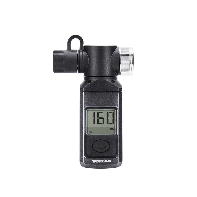 Topeak TSUTG-03 Bicycle Digital SmartGauge Bike Tire Air Pressure Gauge 300 PSI Electronic LCD Rotating SmartHead