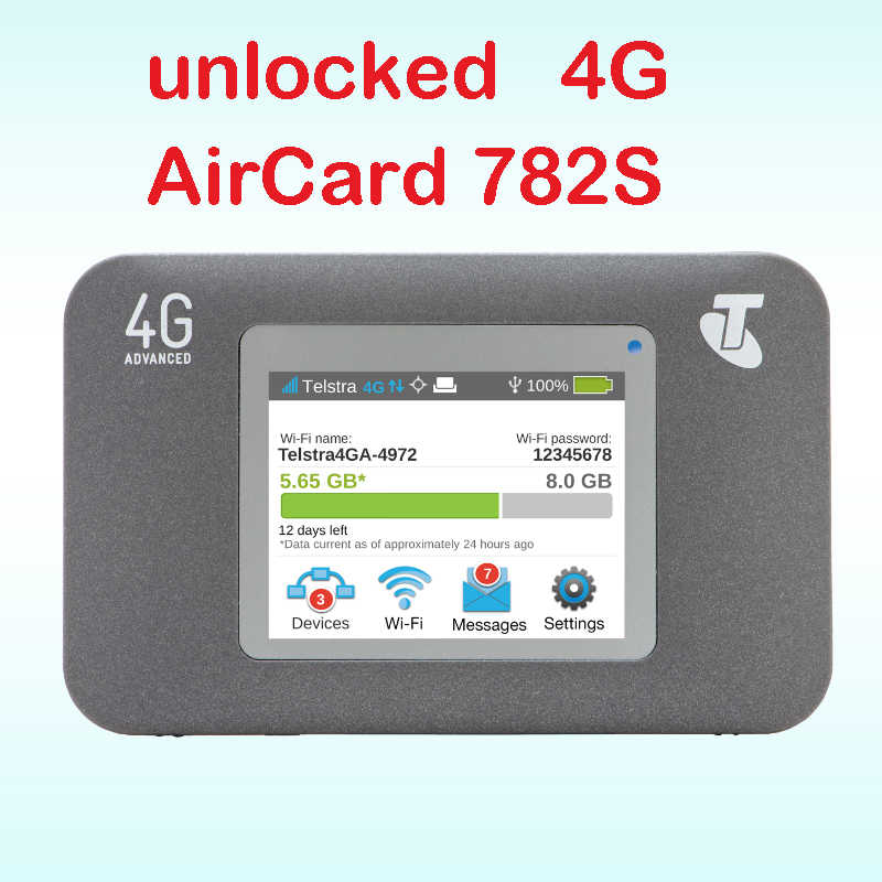 Netgear Router 4G Ac782s Aircard 782 S 4G Modem In Auto 3G 4G Router Simkaart slot Pocket Wifi Mobiele Hotspot Aircard 782 S