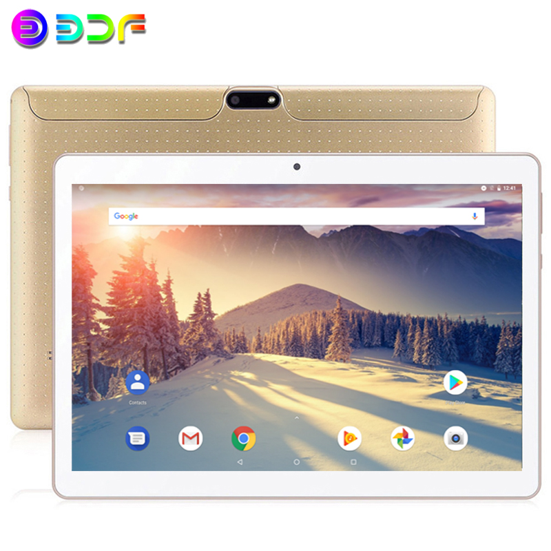 New 10.1 Inch Tablets 3GPhone Call 32GB Quad Core MTK Tablet Android 7.0 Wi-Fi Bluetooth Dual SIM Original Tablet PC