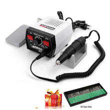 Micromotor Strong 204 102L Nail Drill 35000 65w Electric Grinding Machine for Manicure Nails Pedicure Equipment Nail Supplies dental supplies strong 204 mini micromotor polishing machine for dental jewelry beauty nails jewelery tools