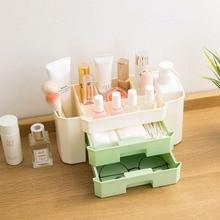 Makeup Organizer Holder with Drawers Desktop Cosmetic Organizer Display Stand Li