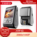 Видеорегистратор VIOFO A119 V2, 2K 2560*1440P, GPS, CPL