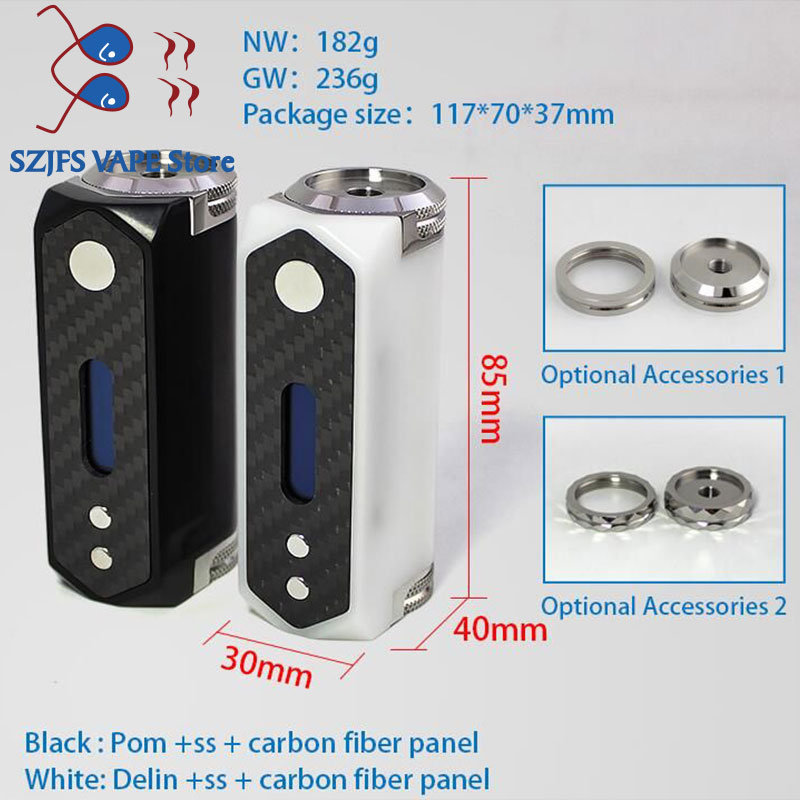 Sxk Superleggera GT 21700(stickman Sl V2) Mod 22 24mm Fit 18650 21700 Battery Chip Dna60 Box Vape Mod Vs Billet Box V4 60w Mod