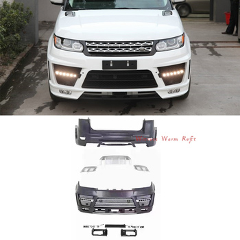 High quality PP Unpainted Car body kit front bumper rear bumper for Land Rover Range Rover Sport body kit 14-16