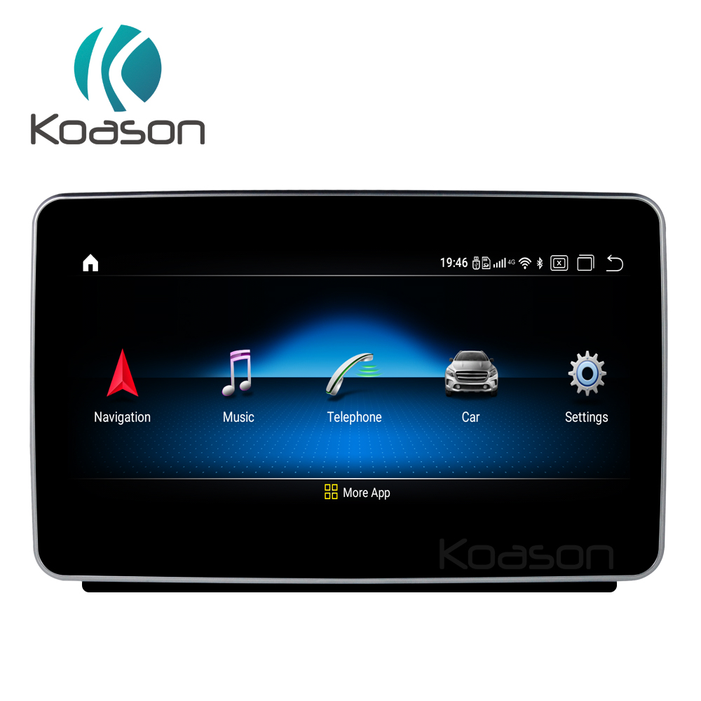 9 HD touch Screen Android 10.0 System Car GPS Multimedia Player for BENZ ML GL 2012-2015 Multimedia Car Radio Player image