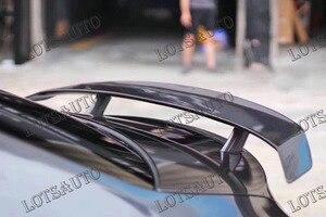 Alerón trasero de maletero CLA45 AMG estilo GT de fibra de carbono apto para mercedes-benz CLA W117 2013 - UP