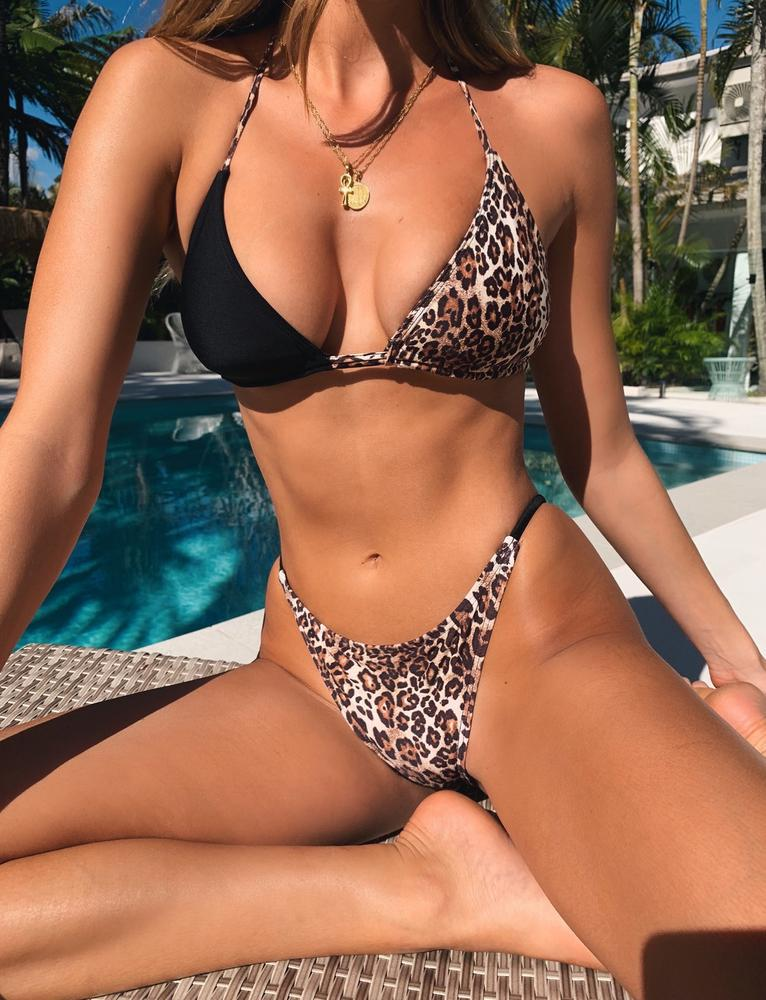 Melphieer <font><b>Bikini</b></font> 2019 New <font><b>Sexy</b></font> <font><b>Bandage</b></font> Elastic <font><b>Swimwear</b></font> <font><b>Women</b></font> <font><b>Bikini</b></font> <font><b>Set</b></font> Padding Swimsuit Female Bathing Suit Monokini <font><b>Swim</b></font> Wear image