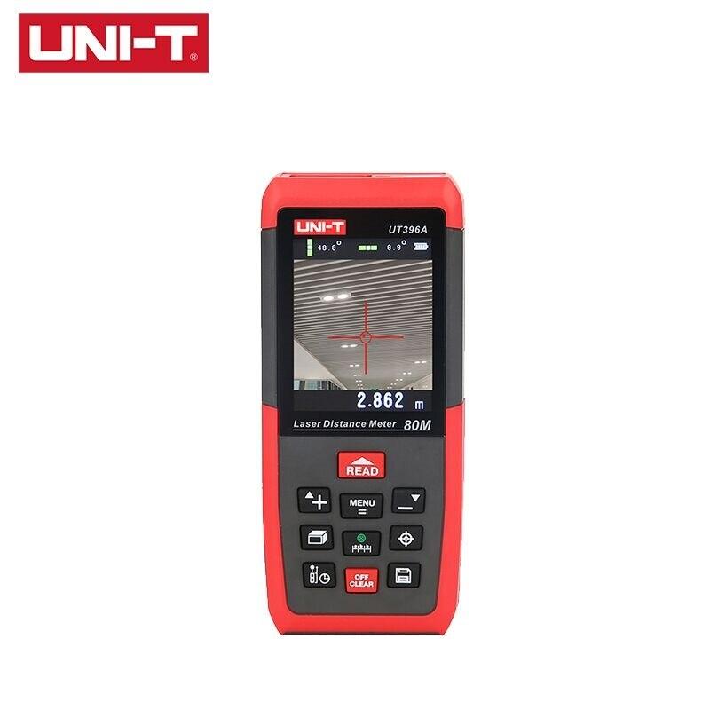 UNI-T UT396A UT396B Laser Abstand Meter 80M/120M Entfernungsmesser Genauigkeit 1,5mm 2MP Kamera Lofting Test Nivellierung instrument
