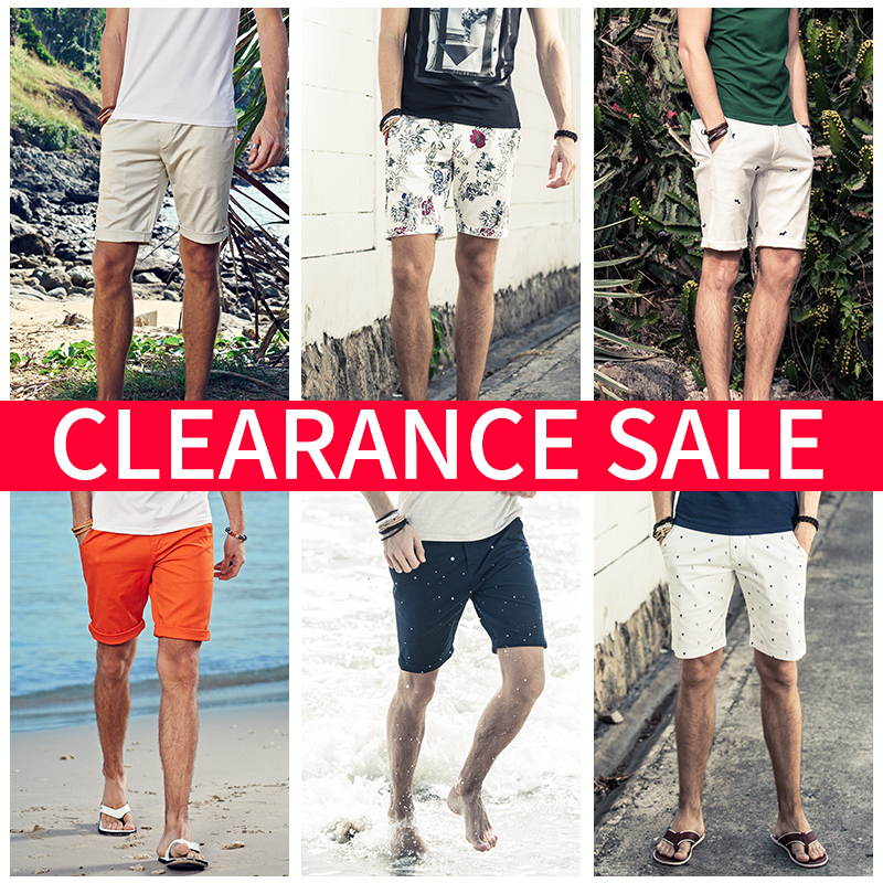 Enjeolon Brand 2019 Summer Fashion Beach Casual Shorts Men Sim Solid Color Knee Length High Quality K6093
