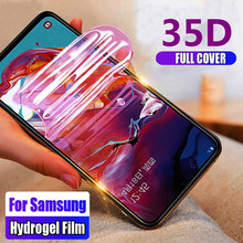 35D Screen protector Hydrogel-Film for samsung A10 A20 A30 A40 A50 A60 A70 A80 A90 soft full front cover M10 M20 M30