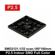 Trasporto Libero P2.5 Coperta HD Colore Completo Ha Condotto il Video Schermo Modulo Interno Fase Sfondo di Grandi Dimensioni del Pannello RGB