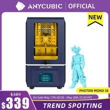 ANYCUBIC Photon Mono SE – imprimante 3D en résine UV 405nm, avec écran LCD Monochrome de 6 pouces, 2K, commande à distance via appli, 130x78x160mm