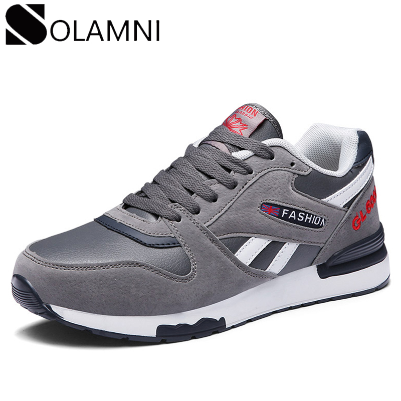 Genuine Leather Sneakers Mens Casual Shoes Breathable Air Mesh Sneaker Male Lightweight Soft Platform Shoes Big Size Fit Shoe 45