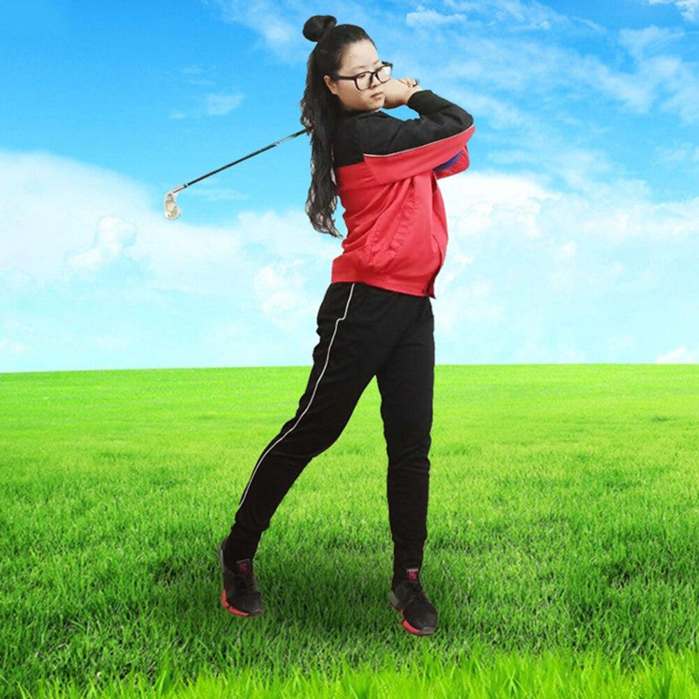 Smart Impact Ball Piece Golf Trainer Aid Practice Posture Correction Training Supplies PVC Golf Intelligent Impact Ball