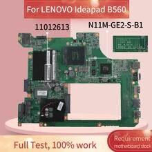 48.4JW06.011 Laptop motherboard Para LENOVO B560 GT310M Notebook Mainboard 10203-1 LA56 48.4JW06.011 HM55 N11M-GE2-S-B1 DDR3