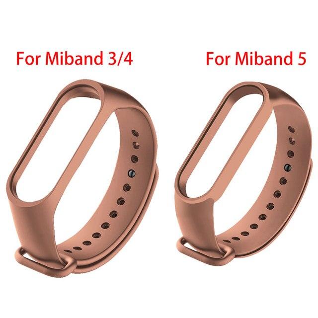 Colors Bracelet for Xiaomi Mi Band 4 5 6 Sport Strap Watch Silicone Wrist Strap For Xiaomi Mi band 5 6 Bracelet Miband 4 3 Strap 4